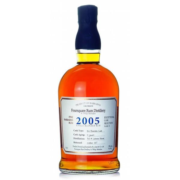 Foursquare 2005 Cask Strength Rum