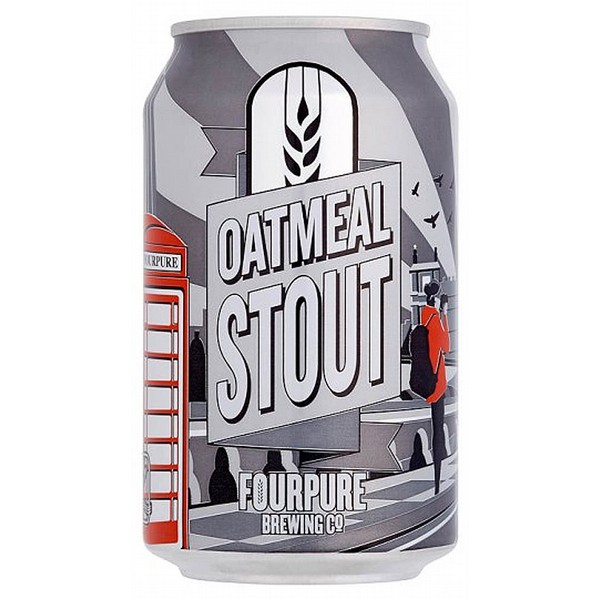 Fourpure Oatmeal Stout Cans