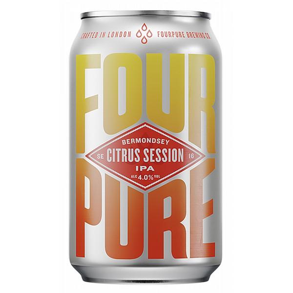Fourpure Citrus Session IPA Cans