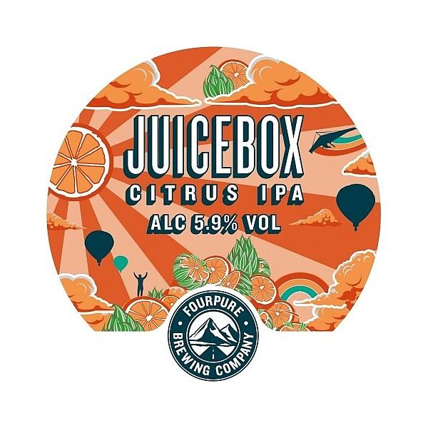 Fourpure Citrus IPA Oval Badge