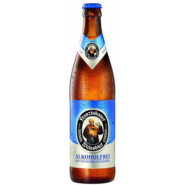 Franziskaner Weizenbier Alkoholfrei