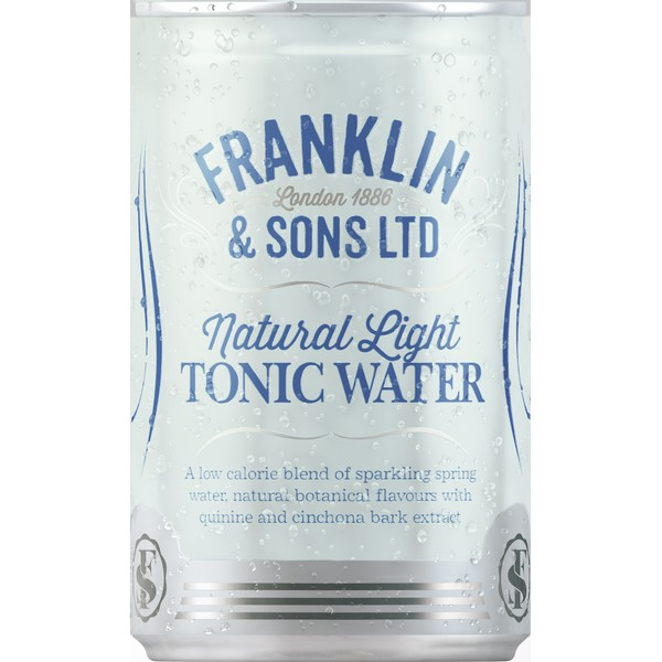 Franklin Natural Light Tonic Cans