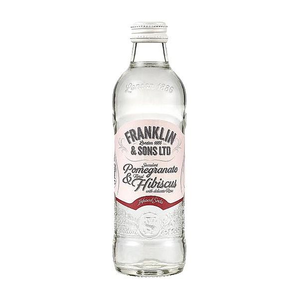 Franklin Hibiscus & Rose Soda