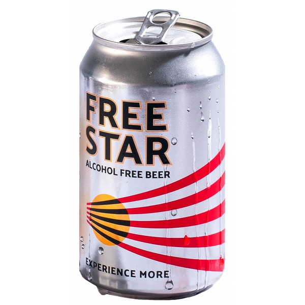 Freestar 0.0% Alcohol Free Cans
