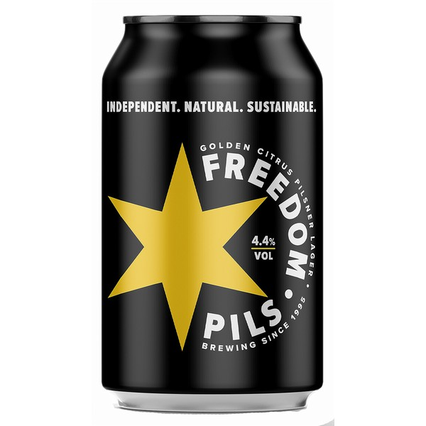 Freedom Pils  Cans