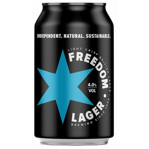Freedom Lager  Cans