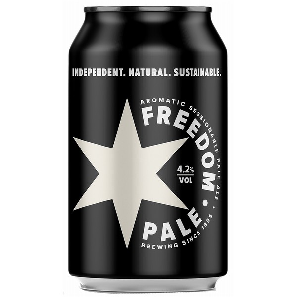 Freedom Pale Ale  Cans