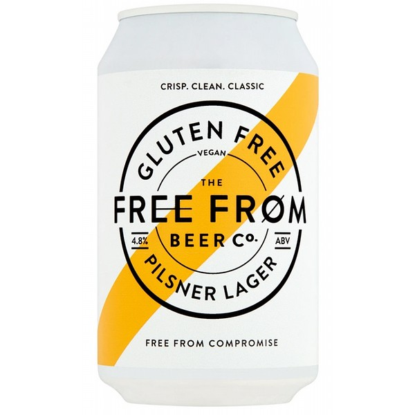 Free From Beer Co Pilsner  Cans
