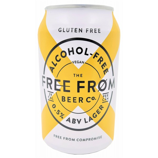Free From AF Beer Co Pilsner  Cans