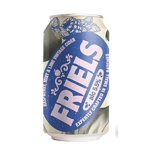 Friels Vintage Raspberry, Mint & Lime Cans