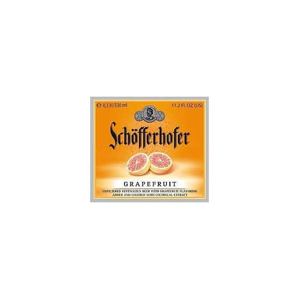 Schofferhofer Hefe Grapefruit