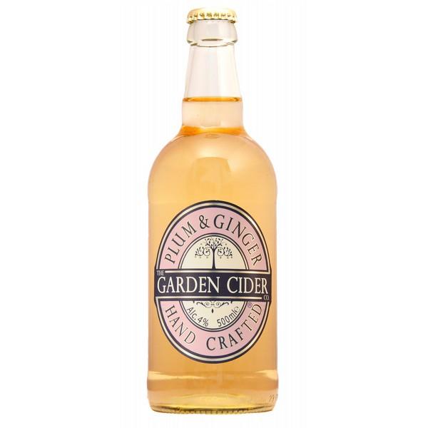 Garden Cider Plum & Ginger