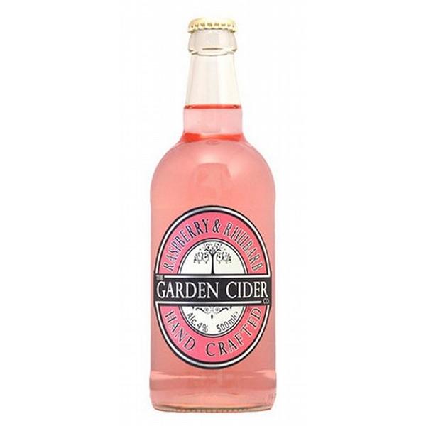 Garden Cider Raspberry & Rhubarb
