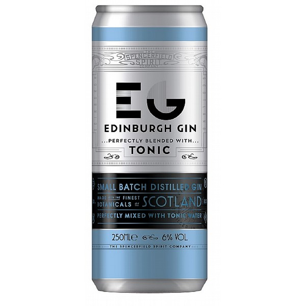 Edinburgh Gin & Tonic Cans