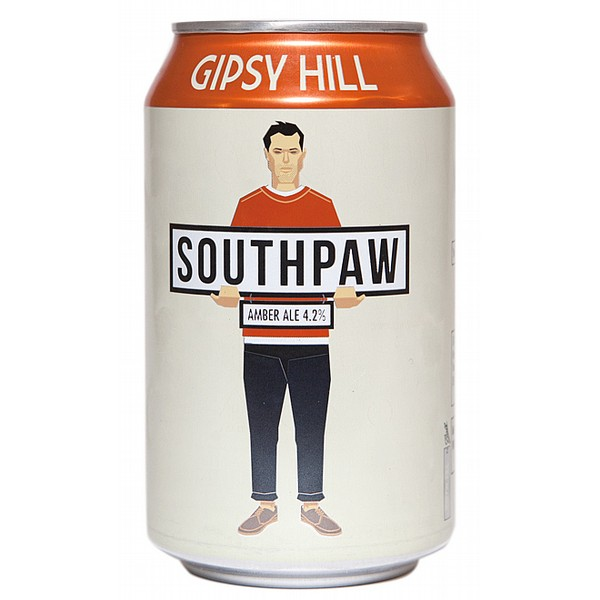 Gipsy Hill Southpaw Amber Ale Cans