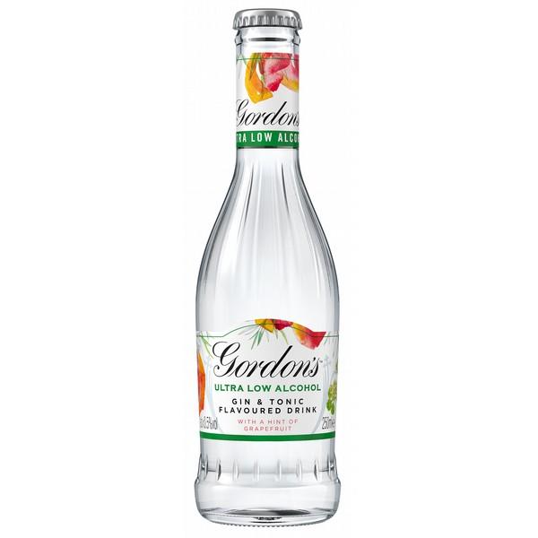 Gordon's Ultra Low Grapefruit bottles