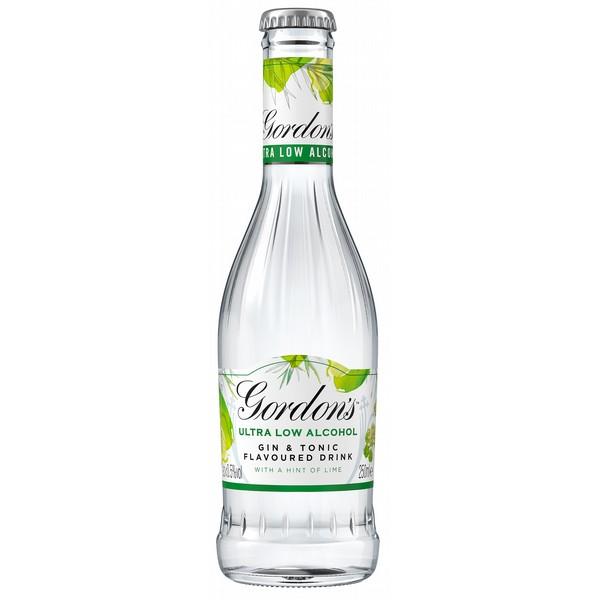 Gordon's Ultra Low Lime bottles