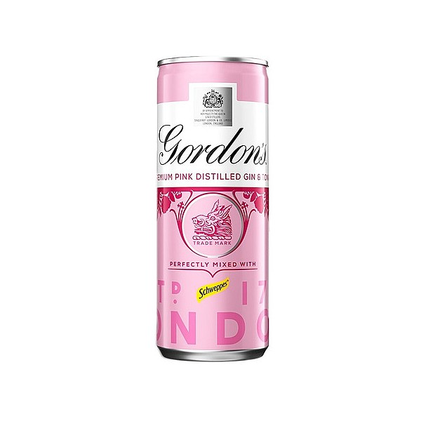 Gordons Pink Gin & Tonic Cans
