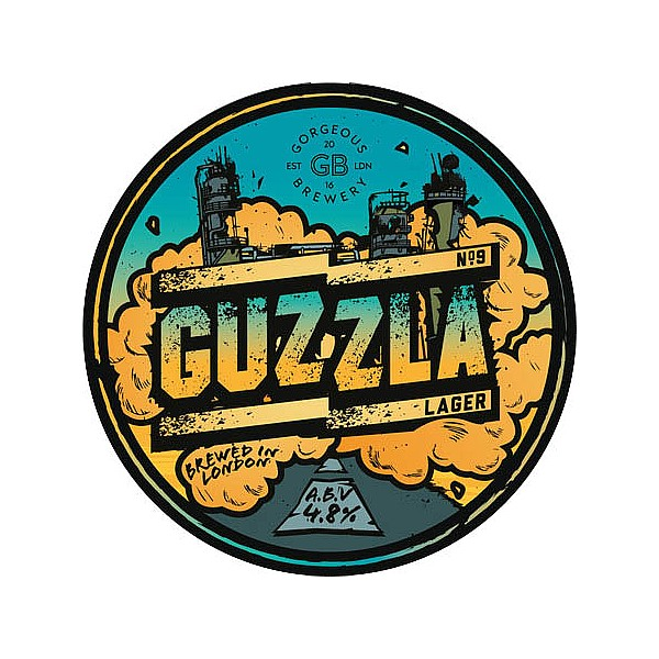 Gorgeous Brewery Guzzla Lager