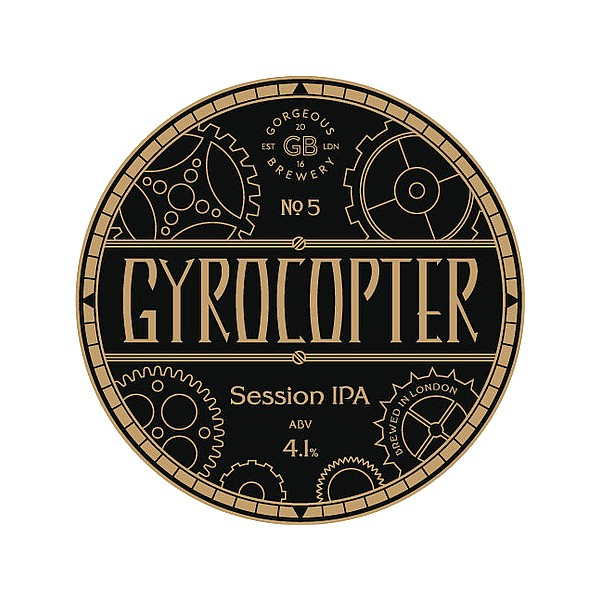 Gorgeous Brewery Gyrocopter Session IPA