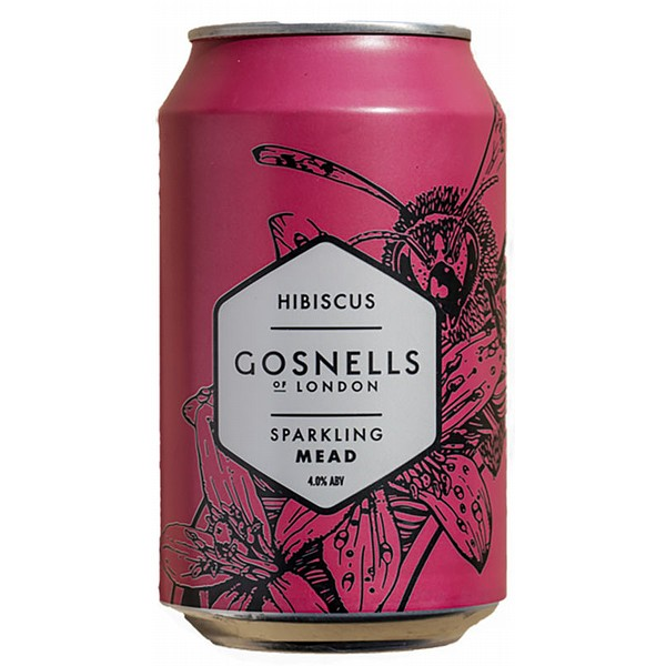 Gosnells of London Hibiscus Mead Cans