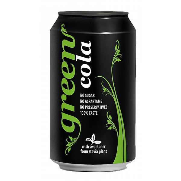 Green Cola Cans
