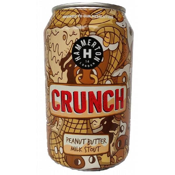 Hammerton Crunch Pnutbutter Milk Stout Can
