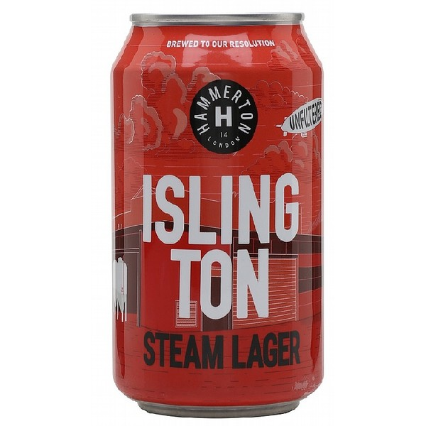 Hammerton Islington Steam Lager Cans