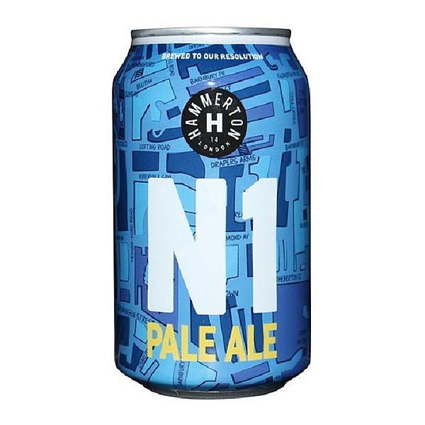 Hammerton N1 American Pale Ale Cans