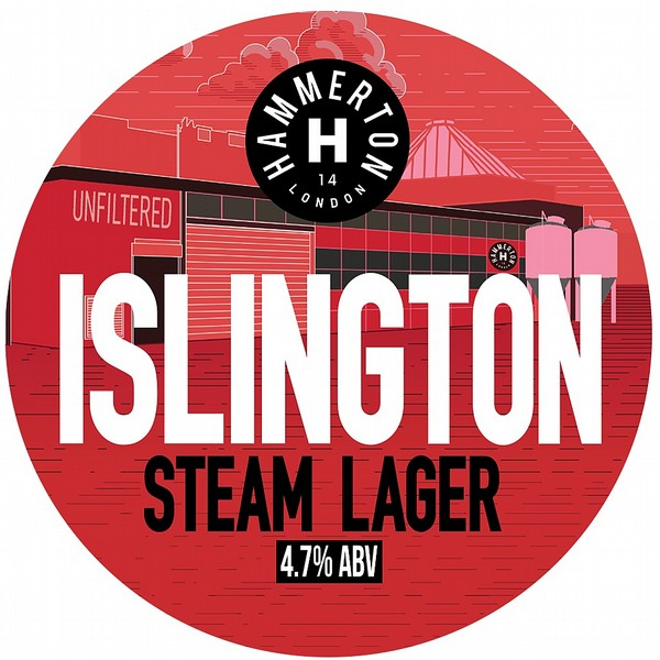 Hammerton Islington Round Flat Badge