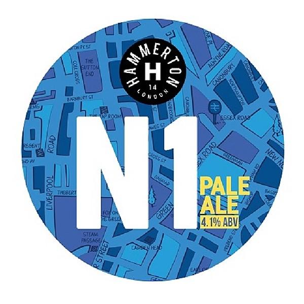 Hammerton N1 Round Lens Badge