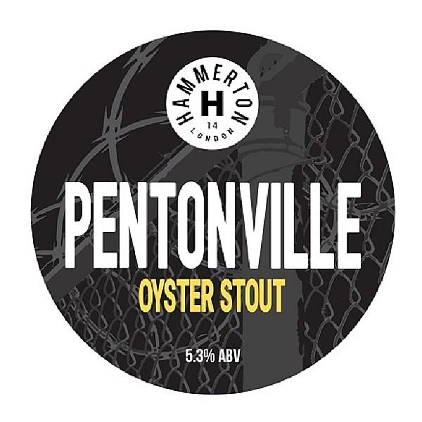 Hammerton Pentonville Round Flat Badge