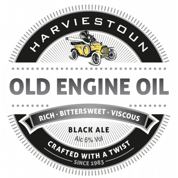 Harviestoun Old Engine Oil Cask
