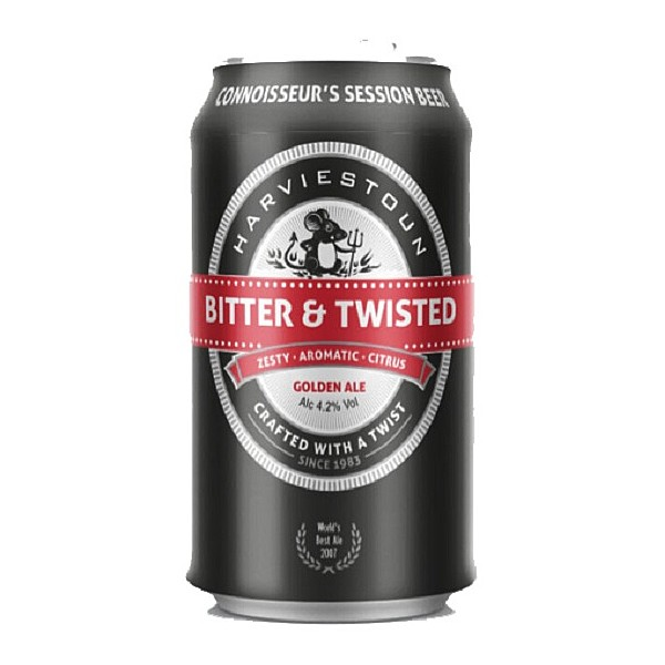 Harviestoun Bitter & Twisted Cans