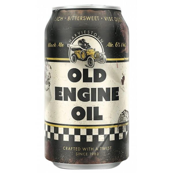 Harviestoun Old Engine Oil Cans