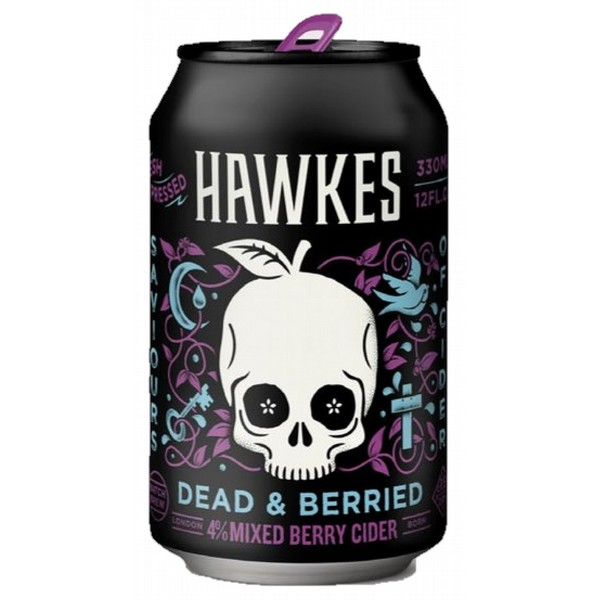 Hawkes Dead & Berried Mixed Berry Cans
