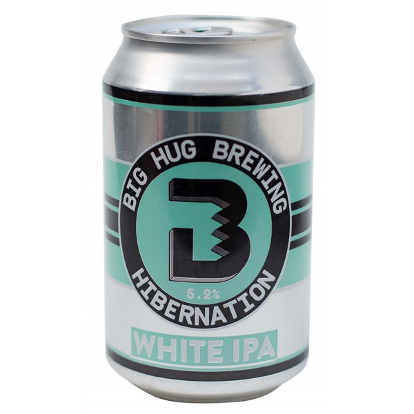 Big Hug Hibernation White IPA Cans