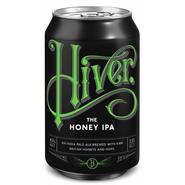 Hiver Honey IPA Cans