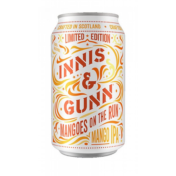 Innis & Gunn Mangoes on the Run Cans