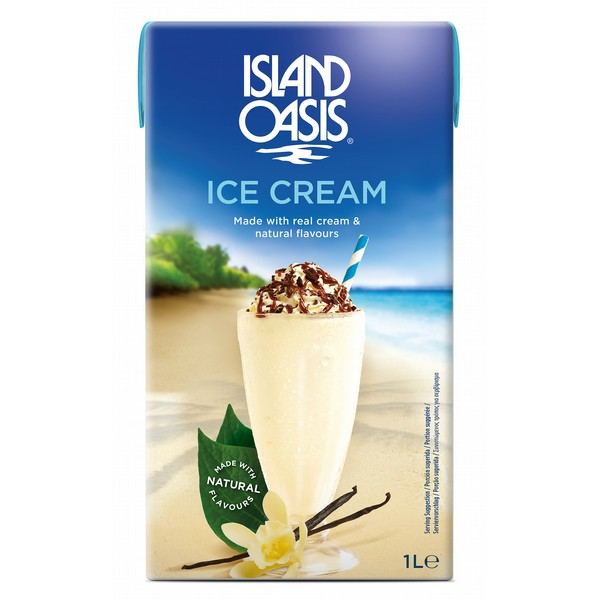 Island Oasis Ice Cream Base