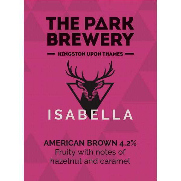 Park Brewery Isabella Pump Clip