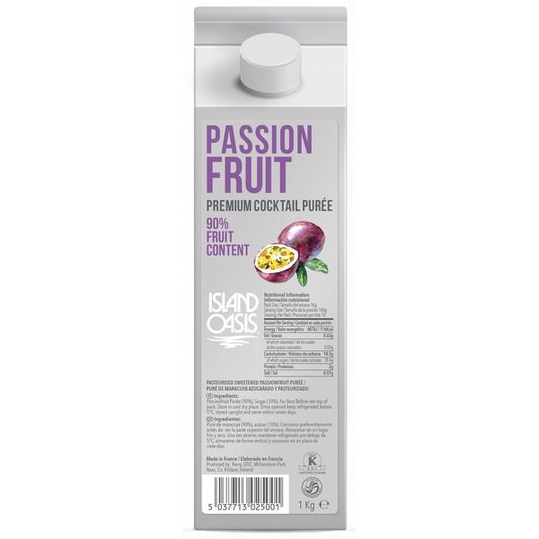 Island Oasis Premium Passionfruit Puree