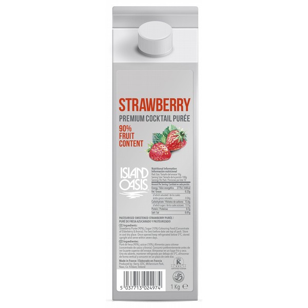 Island Oasis Premium Strawberry Puree