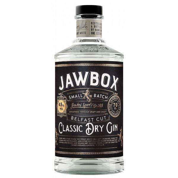 Jawbox Small Batch Belfast Cut Dry Gin
