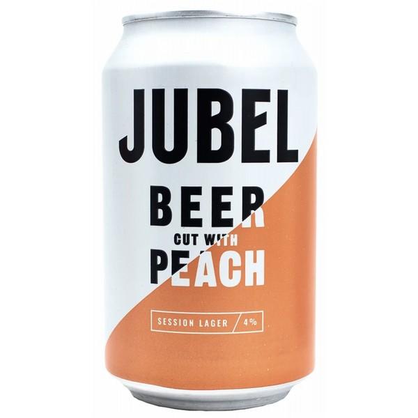 Jubel Alpine Peach Cans