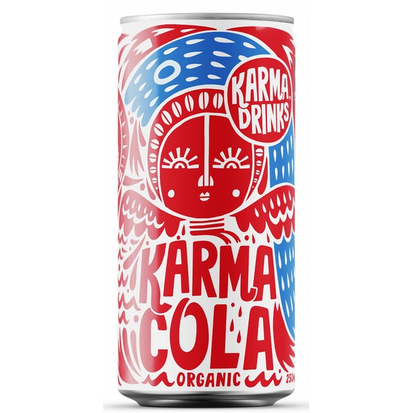 Karma Drinks Cola Cans