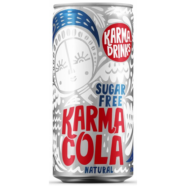 Karma Drinks Sugar Free Cola Cans