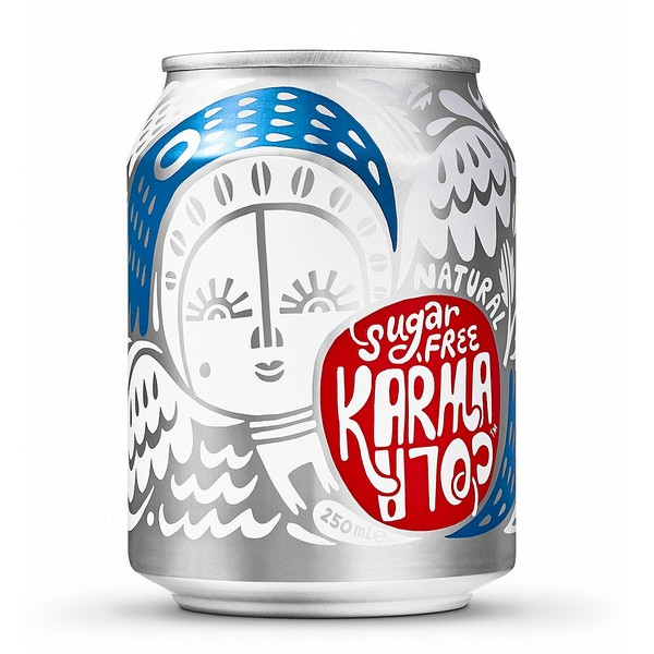 Karma Cola Sugar Free Cans Fair Trade