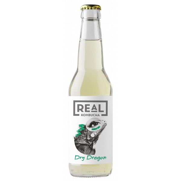Real Kombucha Dry Dragon