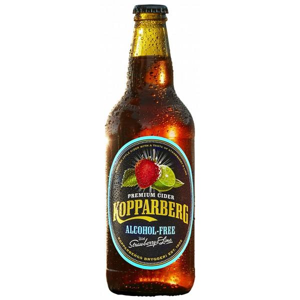 Kopparberg Strawberry & Lime AF Cider
